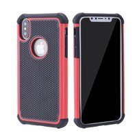 Wholesale Iphone5c Clear - Hybrid Dual Combo Cell Phone Case for Iphone X Defender Covers 3 in 1 Shell for Iphone8 Iphone8 Plus Iphone7 iphone6 Iphone5C