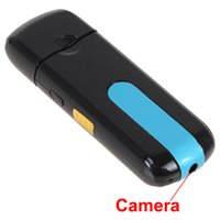 Wholesale Flash Photo Video - USB Flash Disk Mini DVR with HD 720 x 480 Hidden Camera Support Motion Detection with taking Videos, Photos and Recording