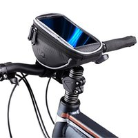 Wholesale Top Handlebar Bicycle Bags - NEW Arrival Roswheel 1.2L Waterproof Cycling Bike Bicycle Front Top Frame Handlebar Bag Pouch for 5.5in Phone Cellphone 2014