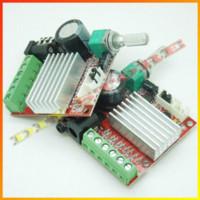 Wholesale Amplifier Board 15w - Wholesale 10pcs lot Mini HI-FI High power 2.1 DC10-18V Digital Amplifier Board 15W*2+30W Class D Amplifier -10000622