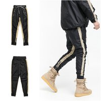 Wholesale mens urban streetwear clothing online - Urban Clothing For Men  Track Pants With Side Stripe 5438f8bbd6a2