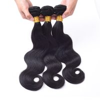 Wholesale Cheap Great Hair - Cheap Brazilian body wave hair bundles 3pcs lot 7A Great Quality Human Hair Extensions Peruvian Malaysian Indian Brazilian Human Hair