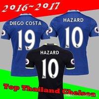 Wholesale Chelsea Jersey Shorts - 3AAA+ Thailand version 2016 2017 Chelsea Home jersey 16 17 FABREGAS OSCAR HAZARD MIAZGA WILLIAN TERRY DIEGO COSTA jersey