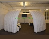 Wholesale portable pop up tents for sale - Group buy Factory outdoor portable folding air pop up inflatable exhibition trade show tent for trade show display