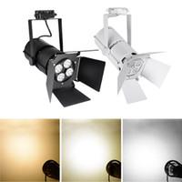 Wholesale Showcase Tracking Light - 1 PCS 35W LED Track Rail Light Spotlight Shop Tracking Showcase Display Spotlight