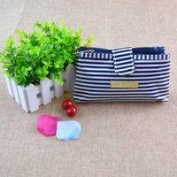 Wholesale Cat Travel Boxes - 2017 Portable Cartoon Cat Coin Storage Makeup Cosmetic Make Up Organizer Bag Box Case Women Men Casual Travel Bag Handbag