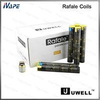 uwell rafale оптовых-100% оригинал Uwell Rafale катушки головки SUS316 0.2 ohm 0.5 ohm Ni200 0.1 ohm доступны замена катушки головки для Uwell Rafale распылитель