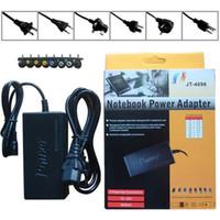 alimentação universal do adaptador de carregador 96w venda por atacado-Frete Grátis Quente Universal 96 W Laptop Notebook 15 V-24 V AC Carregador Power Adapter Com 8 Conectores