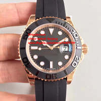 Wholesale Swiss 18k - Luxury Best Edition Wristwatches NOOB Factory Maker V7 40mm 116655 18k Rose Gold Swiss ETA 3135 Movement Automatic Mens Watch Watches