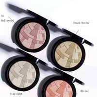 Wholesale Face Illuminator Powder - Brand Illuminator Makeup Miner Foundation Powder Maquillaje 4color Face Bronzer Highlight Contour Setting Powder free shipping DHL