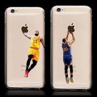Wholesale Iphone Michael - Wholesale-New Hot Ultrathin Kobe Bryant Stephen Curry Michael Jordan LeBron James Basketball Hard Plastic Back Cover Case for iPhone 5 5s