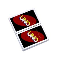 Wholesale Big Funny Cards - Popular Entertainment Card Games UNO cards Fun Poker Playing Cards Family Funny Board Games Standard DHL Free