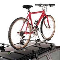Wholesale Aluminum Car Roof Rack - Aluminum Upright Car Roof Top Foldable Bike Bicycle Cycling Rack Carrier SUV VAN