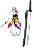 Wholesale Inuyasha Cosplay Costumes - Wholesale-InuYasha Sesshomaru Tenseiga Cosplay Wooden Weapons