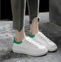 Wholesale Fund Wholesaler - White shoe of new fund of 2017 autumn female han edition platform shoes casual sandals students heighten running shoes wet