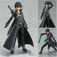 Wholesale Anime Pvc Sale Japan - Hot Sales Brand New Classic Trendy Japan Action Anime Figures Model Movable Figma SAO 14cm PVC Collection Model Toys Boxed Free Shipping