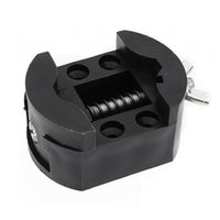 Wholesale Holder For Watch Repair - Wholesale-Hot Sale Black Watch Case Holder Adjustable Opener Vice Tools Repair Kits For Watchmaker