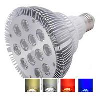 Wholesale Led Par38 15w Blue - High Brightness PAR38 LED Spotlight E26 E27 12W 15W 36W 45W LED light bulb lamp par38 led bulb warm white AC110V 220V led ceiling RoHs CE