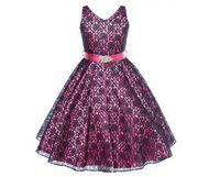 Wholesale Dress Tutu Baby Lace Black - Beautiful Baby Girls Dresses Hot Sell Gilr's Dresses Pretty Lace Diamond Belt Vest Dress Multi Colors Children Dress Party Dance Wear 9411