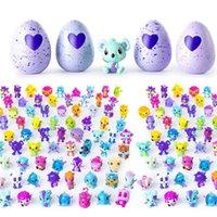 Wholesale Novelty Gift Electronic - Free Shipping 70+ Hatchimals Colleggitble 4 egg+1 bonus set PVC Figures Novelty Toys Chritmas Gifts Items for Kids Children