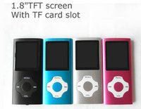 Wholesale Mp4 8gb Flower - flower shape button 8GB 1.8 inch mp3 mp4 Music player with speaker movement push-button recording function