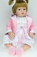 Wholesale Rooting Doll - 28 inch Big Toddler Reborn Arianna Rooted Hair Little Girl Lovely Princess Baby Present Silicone Reborn Doll