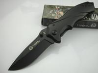 mini outils extérieurs achat en gros de-Strider B42 B43 Petit MINi Petite Tine Poche Pliante OEM EDC Jackknife couteau En Gros Camping Chasse Maison outils En Plein Air GifFree