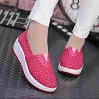 Wholesale Wedges For Women Cheap - Fashion brand women mesh shoes quality discount New zapatos Sport Shoes For Womens Sneaker roshe run cheap casual huarache wedge sneakers