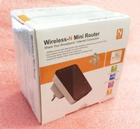 Wholesale High Quality Wireless Router - 300Mbps 802.11b g n Wireless Mini Router WiFI AP Repeater Booster Expander two Interface high quality