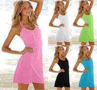 Wholesale Lovely Bikini - 100pcs lot newest brand sexy swimwear lovely beach dress New Women Beach Dress Summer Dress Outside The Bikini Blouse
