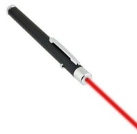 Wholesale Powerpoint Presentation Pen - 5PCS LOT Red Laser Pointer Pen High Powered Burning Laser Pointer Pen Beam 5mW 650nm Light Lamp Presentation Powerpoint Presenter