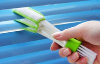Discount floor duster - New Arrive Pocket Brush Keyboard Dust Collector Air-condition Cleaner Window Leaves Blinds Cleaner Duster Computer Clean Tools