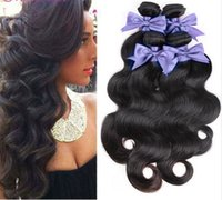 Wholesale Shop Wholesale Hair Color - Peruvian nature Hair Body Wave,8A puruvian hair bundles More Wavy,Princess Hair Shop nature Hair Weave 4,6Bundles