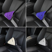Wholesale Baby Car Seat Safety Straps - Baby Kids Car Safety Cover Strap Adjuster Pad Harness Children Seat Belt Clip.Kids Car Seat Belt Adjuster.Color Optional