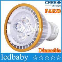 Wholesale Led Bulbs Indoor Lights Dimmable - Cheap 5 piece par20 LED Bulbs PAR20 Cree light Dimmable 9W 12W 15W Spotlight E27 GU10 E14 B22 White Warm indoor lighting 110V-240V