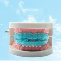 Wholesale Equipment For Dental - Teeth Orthodontic Silicone Trainer Mouthpieces Appliance Professional Alignment Braces Oral Hygiene Dental Care Equipment For Adults