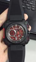 Wholesale Military Green Dresses - Mens WatchesTop Brand Luxury Chronograph BR Swiss Men Sports Quartz Watch Montre Homme Military Male Clock Men's Dress Wristwatch Reloj Homb