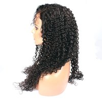 Wholesale Price For Lace Front Wigs - Front Lace Wigs Kinky Curly Natural Hairline Factory Price 100% Human Hair Front Lace Wigs For African Women