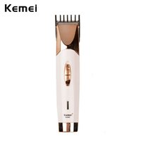 Wholesale Male Body Hair Trimming - azor collectibles Kemei 110-240V Portable Professional Baby Hair Trimmer Cutter Male Electric Beard Shaver Body Hair Razor Adult Shaving ...