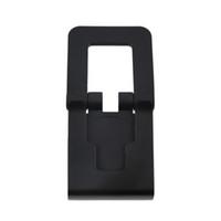suportes ajustáveis da câmera venda por atacado-Suporte de suporte de clipe de tv preto suporte de montagem ajustável suporte para sony playstation 3 ps3 movimento controlador olho câmera atacado