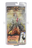 """Wholesale Kratos Ares Armor - 7""""18cm High Quality NECA God of War Kratos in Ares Armor Blades PVC Action Figure Toy Model GW001"""
