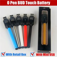 Wholesale Cheapest Disposable E Cigarettes - 2017 cheapest automatic ce3 o pen bud battery touch pen wax e liquid vaporizer pen cartridges PK disposable electronic cigarette