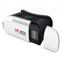"""Wholesale New Arrival Head Phones - New arrival Head Mount Plastic VR BOX VR Virtual Reality Glasses Rift Google Cardboard 3D Movie for 3.5"""" - 6.0"""" Smart Phone"""