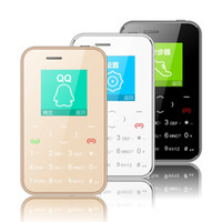 Wholesale band bar - Original AEKU I6 Card Mobile Phone MM Thin Cool Pocket Low Radiation Quad Band GSM Unlocked Phones