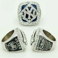 Wholesale Baseball Rings Yankees - Free shipping Baseball souvenir Sport Fan Men Gift Yankees world championship ring Derek Jeter champions ring