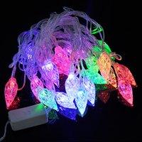 Wholesale Led String Diamond Lights - 20led lamp string dripping diamond decorative modelling lamp string hang a Christmas garden decoration lighting batch