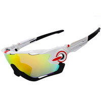Wholesale Sport Racing Sunglasses - Wholesale-3 Lenses Men Women UV400 Polarized Cycling Eyewear MTB Bike Bicycle Racing Windproof Goggles Outdoor Sport Glasses Sunglasses