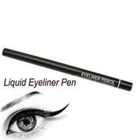 Wholesale automatic eyeliner - Waterproof Eyeliner Eyebrow Pencil Cosmetic Makeup Tools Automatic Retractable Rotary Black Brown