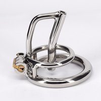 Wholesale Toy Sexy Gays - Stainless Steel Male Bondage Cock Cage For Men Metal Chastity Device For Gay Sexy Bdsm Toys Adult Fetish Products