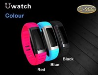 Wholesale Iphone Saw - New Cheap Smart Watch U9 Bluetooth Wrist U See UWatch Smartwatch Pedometer For IOS iPhone Android Samsung Sony HTC Anti-lost DHL